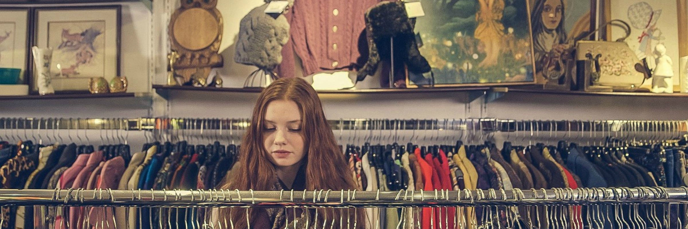 Woman shopping for her Signature Style
