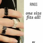 Three adjustable rings one size fits all.