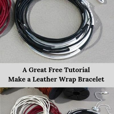 Best Free Tutorial How to Make Beautiful Leather Wrap Bracelets
