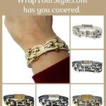 Graphic of Initial F Bracelet six different colors