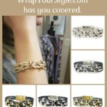 Graphic of Initial K Bracelet in six different colors